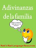 Spanish Vocabulary - Mi familia riddles