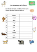 Spanish Vocabulary Pack - Farm Animals