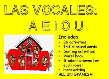 Spanish Vocales Bundle