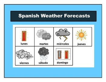 Spanish Weather Forecasts