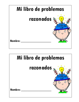Spanish Word Problem Book