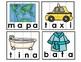 Spanish Syllables Puzzles. Rompecabezas de sílabas