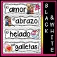 Spanish Valentine's Day Word Wall (El Dia de San Valentin)