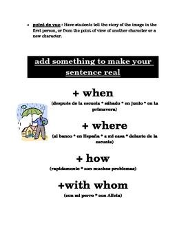 Spanish Writing Workshop