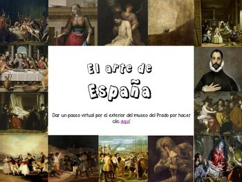 Spanish art - speaking activity