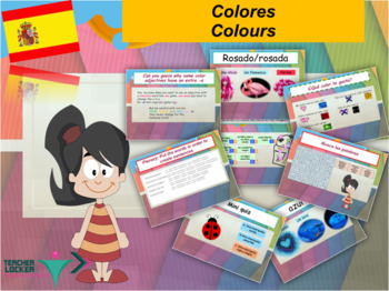Spanish colours, Colores for beginners