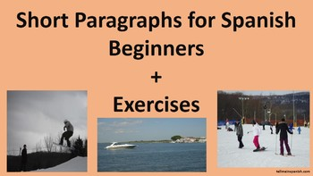Spanish for Beginners + Exercises and Activities