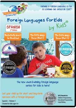 Spanish for Kids DVD Volume I