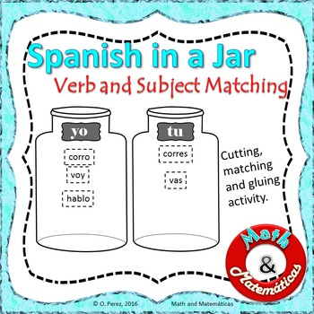 Spanish in a Jar: Present Tense Verb and Subject Agreement