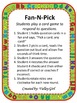 Fan and pick: Spanish initial sounds - Abanica y Escoge