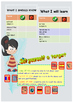 Spanish school subjects, las asignatures booklet for beginners
