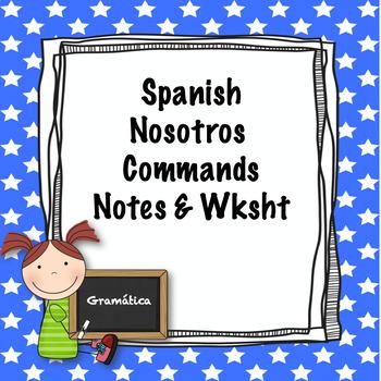 Spanish nosotros commands