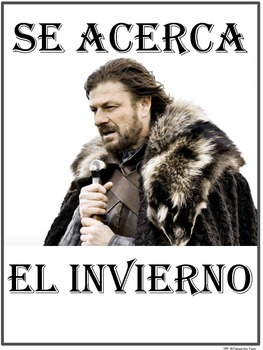 FREE Spanish poster
