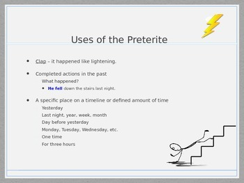 Spanish preterite vs imperfect notes and practice