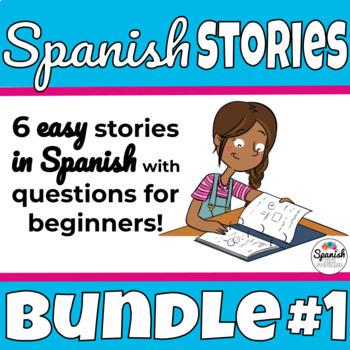 Spanish Reading Activities: Novice Bundle 1