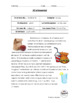 Spanish Readings: School Lunch and Snacks