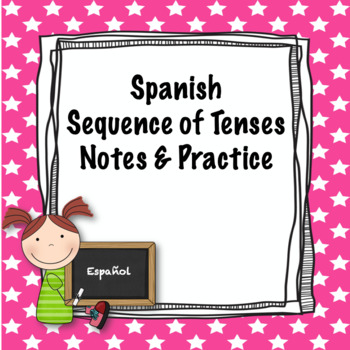 Spanish sequence of tenses notes and practice