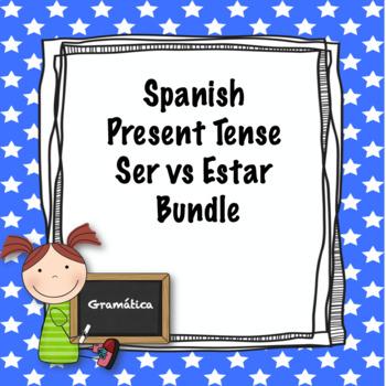 Spanish ser vs estar quiz