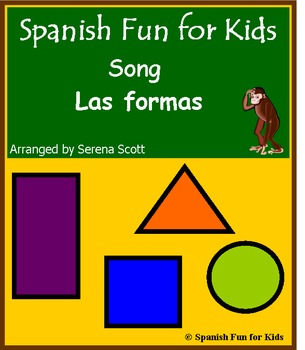 Spanish song: Las formas (shapes)