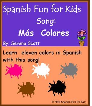 Spanish song: Más Colores