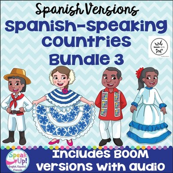 Spanish-speaking Countries Bundle #3 {en español}