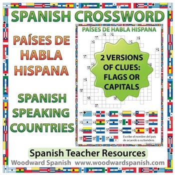 Spanish-speaking Countries Crossword