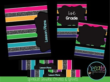 Sparkle Binder Covers & Spines
