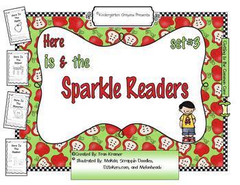 Sparkle Readers (Set #3)