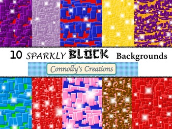 Sparkly Blocks Backgrounds
