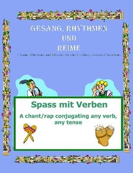 German Musical Chant Conjugating ANY Verb ANY Tense