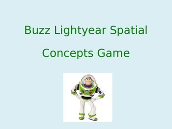 Speech Therapy Spatial Concepts Game