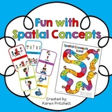 Prepositions / Spatial Concepts / Positional Words game an