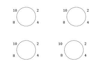 Spaulding Clock Letters for desks
