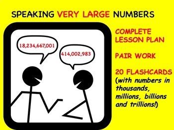 Speaking Large Numbers