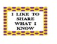 "Common Core Speaking & Listening ""I Can Posters"" (Yellow/P"