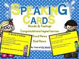 Speaking Practice Cards Pack 3 {ESL Speaking Game Cards -