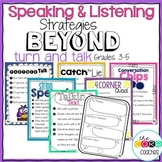 Speaking and Listening Activities: Beyond Turn and Talk Gr