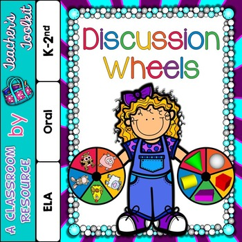 Speaking and Listening Discussion Wheels {UK Teaching Resource}