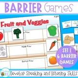 Barrier Games - Speaking and Listening