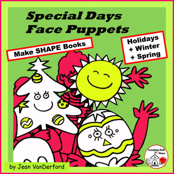 HOLIDAY FACES | Shape Books | Storytelling | Acting | Dram