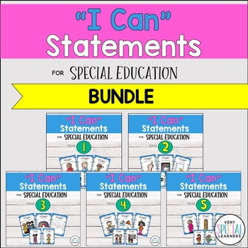 """Special Ed. """"I Can"""" Statements - {THE BUNDLE!}"""