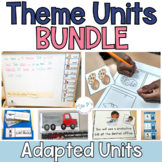 Special Ed. Thematic Unit BUNDLE