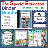 Special Education Binder: The Bundle