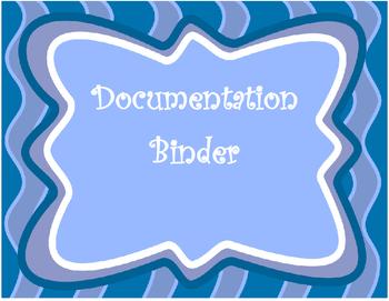 Special Education Binder