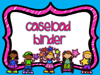Special Education Caseload Binder - Organizational!