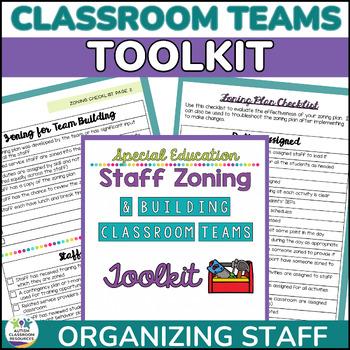 Special Education Classroom Building Classroom Teams & Zon