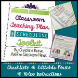 Special Education Classroom Teaching Plan and Scheduling Toolkit