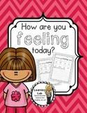 #SpedIsLucky Special Education - Feelings: Daily Check-In Sheet