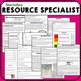 Special Education How to Be a Resource Specialist