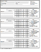 Special Education IEP Data Collection Sheets for Teachers
